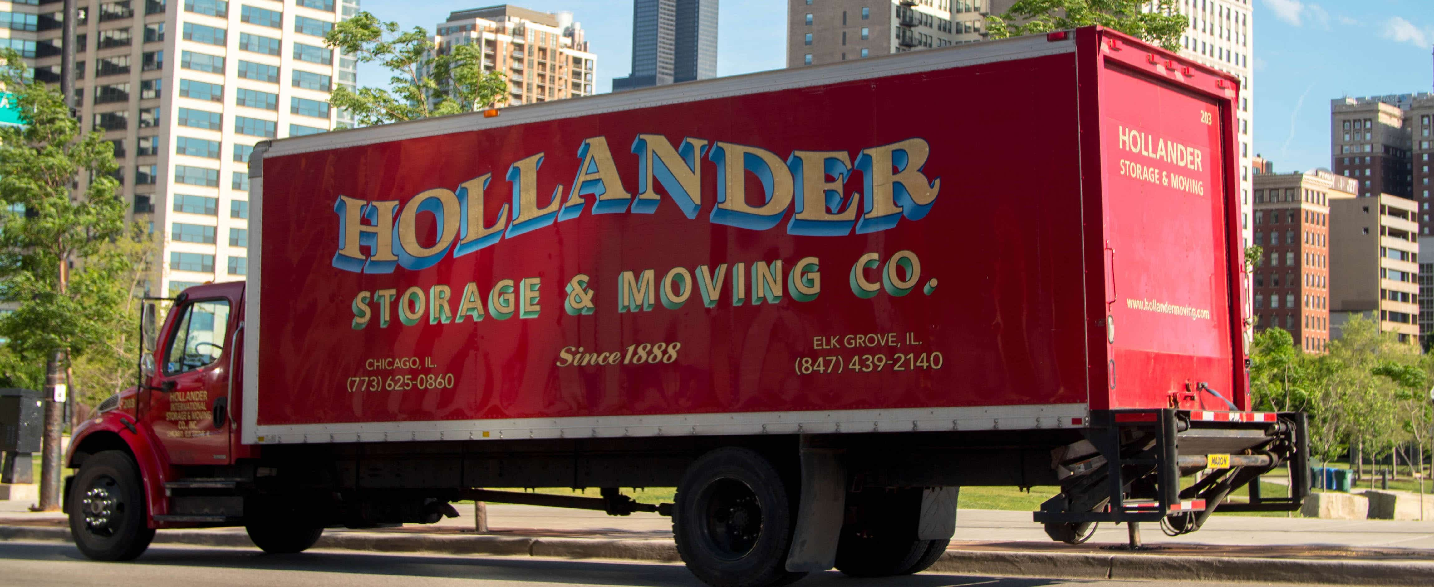 Hollander Storage and Moving Truck