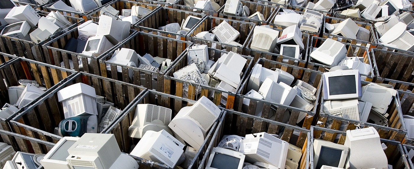 Recycling Bins for Electronics