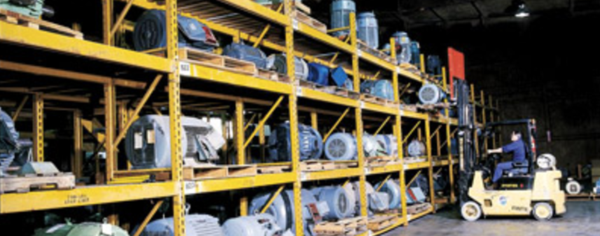 Warehouse with Storage Items
