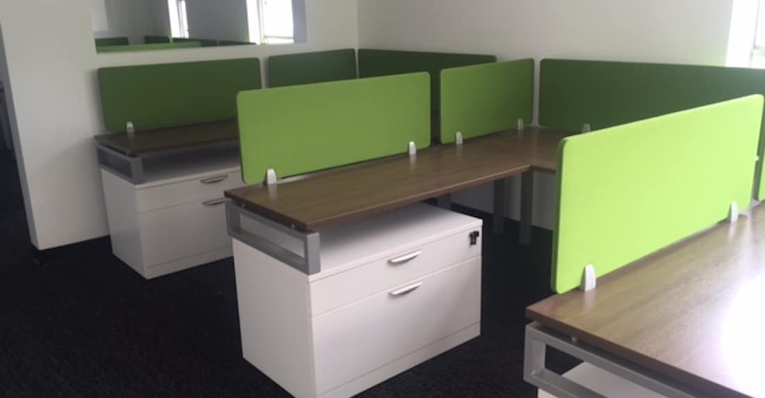 Office Furniture Installed